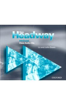 New Headway Advanced Class 3xCD