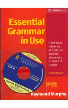 Essential grammar in use + CD ROM    A self   study referece book for elementary students of En.