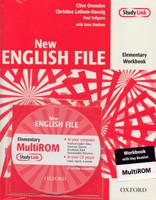 New English File Elementary Workbook with Answer Booklet and MultiRom Pack