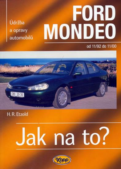 Ford Mondeo 11/92 - 11/00 - Jak na to? - 29.