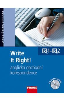 Write It Right! -- Učebnice