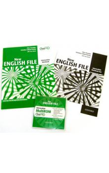 New English file intermediate Workbook key + CD-ROM pack