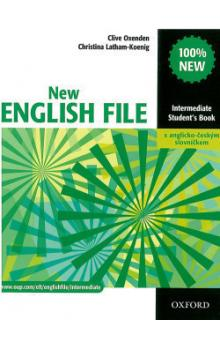 New English file Intermediate Student´s book + Czech wordlist