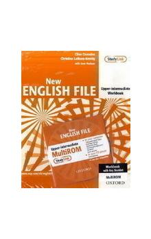 New English File Upper Intermediate Workbook with Answer Booklet and MultiRom Pack