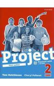 PROJECT the Third Edition 2 WORKBOOK  + 1 CD (Czech Version)