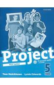 Project the Third Edition 5 Workbook CZ