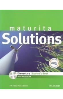 Maturita Solutions Elementary Student's Book + CD CZ edition - Falla Tim