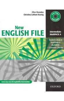 New English File Intermediate Multipack A - Oxenden Clive