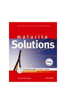 Maturita Solutions Pre-Intermediate Student´s Book with Multi-ROM (CZEch Edition)