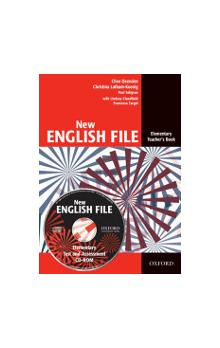 New English File Elementary Teacher´s Book + Tests Resource CD-ROM