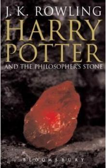 HARRY POTTER AND THE PHILOSOPHER'S STONE    Adult Edition
