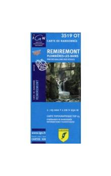 IGN 3519 OT Remiremont 1:25 000