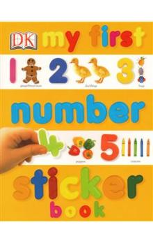 My First Number Sticker Book