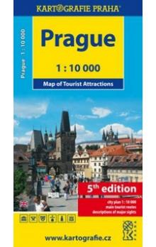 Prague -- Map of Tourist Attracitions