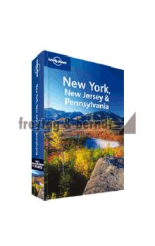 Lonely Planet New York, Jersey & Pennsylvania 3.