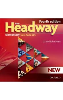 New Headway Fourth Edition Elementary Class Audio CDs /3/ - Soars J. Soars L.