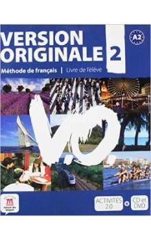 Version Originale 2 Livre de l´éleve + CD + DVD -- Méthode de francais