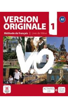 Version Originale 1 Livre de l´éleve + CD + DVD -- Méthode de francais