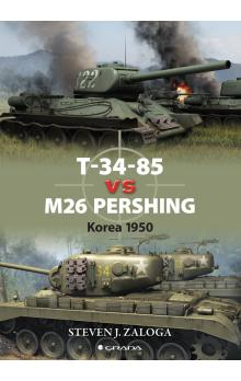 T-34-85 vs M26 Pershing -- Korea 1950