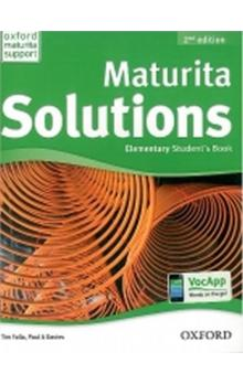 Maturita Solutions Elementary Student´s Book 2nd (CZEch Edition)