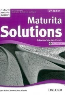 Maturita Solutions 2nd Edition Intermediate Workbook with Audio CD CZEch Edition