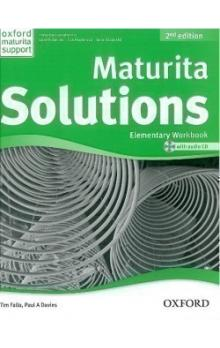 Maturita Solutions 2nd Edition Elementary Workbook with Audio CD CZEch Edition
