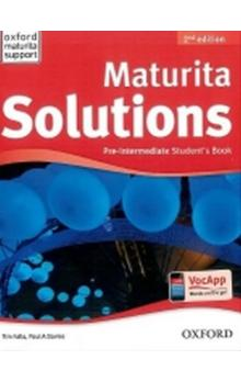 Maturita Solutions Pre-Intermediate Student´s Book 2nd (CZEch Edition)
