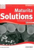 Maturita Solutions Pre-Intermediate Workbook 2nd Edition with audio CD pack CZ