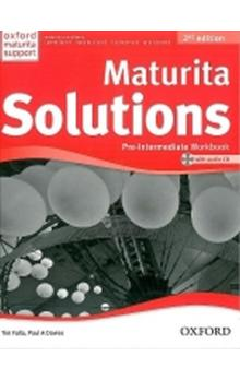 Maturita Solutions 2nd Edition Pre-Intermediate Workbook with Audio CD Czech Edition