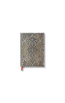 Paperblanks Silver Filigree Natural Midi Lined