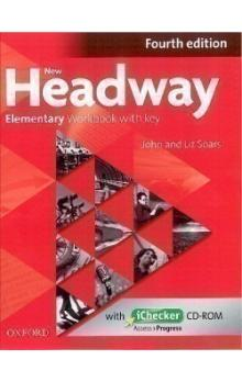 New Headway Fourth Edition Elementary Workbook with Key with iChecker CD
