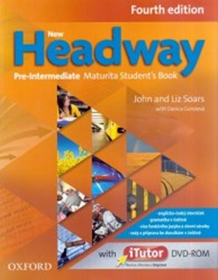 New Headway Fourth Edition Pre-intermediate Maturita Student´s Book with iTutor DVD-ROM(czech Ed.)