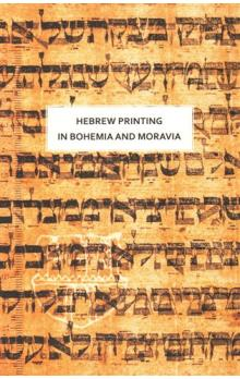 Hebrew printing in Bohemia and Moravia
