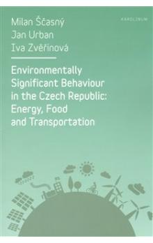 Environmentally Significant Behaviour in the Czech Republic -- Energy, Food and Transportation