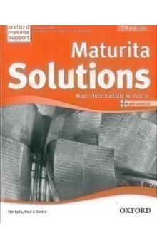 Maturita Solutions 2nd Edition Upper Intermediate Workbook with Audio CD CZEch Edition