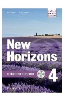New Horizons 4 Student's Book -- with CD-ROM PACK