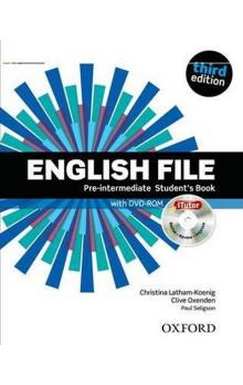 English File Third Edition Pre-intermediate Student´s Book with iTutor DVD-ROM