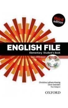 English File Elementary Student´s Book + iTutor DVD-ROM -- Third Edition