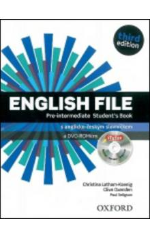English File Pre-Intermediate Student´s Book + iTutor DVD-ROM Czech Edition -- Third Edition