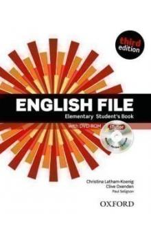 English File Elementary Student´s Book + iTutor DVD-ROM Czech Edition -- Third Edition