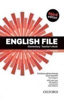 English File Elementary Teacher´s Book with Test and Assessment CD-ROM -- Third Edition