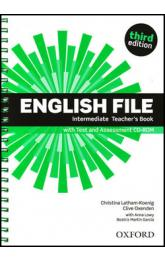 English File Third Edition Intermediate Teacher´s Book with Test and Assessment CD-rom