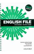 English File Intermediate Teacher´s Book with Test and Assessment CD-ROM -- Third Edition
