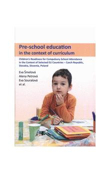 Pre-school education in the context of curriculum