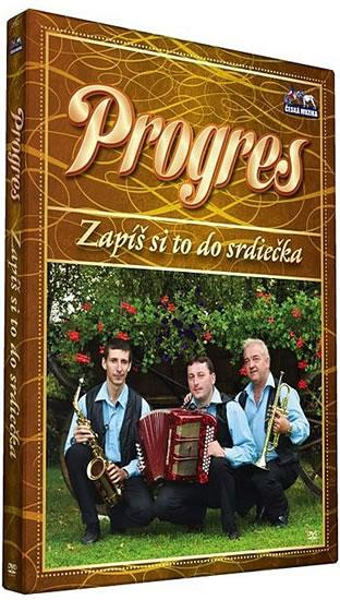 Progres - Zapiš si to do srdiečka - DVD