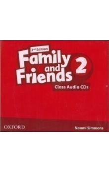 Family and Friends 2nd Edition 2 Class Audio CDs /2/
