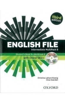 English File Third Edition Intermediate Multipack B with Online Skills - Oxenden Clive Latham, Koenig Christina