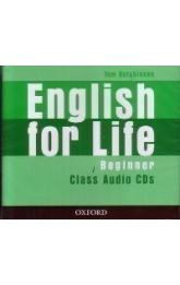 English for Life Beginner Class Audio CDs /3/