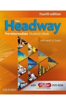 New Headway Fourth Edition Pre-intermediate Student´s Book with iTutor DVD-ROM - Soars J. Soars L.