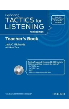 Expanding Tactics for Listening Third Edition Teacher's Book with Audio CD Pack - Richards J. C. Trew G.